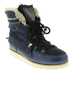 Bottines/Boots bleu DOLFIE pour femme