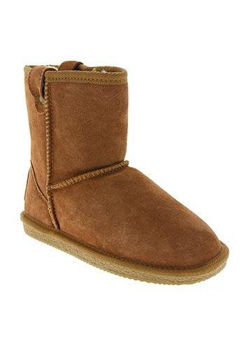 Bottines/Boots marron CASSIS pour fille