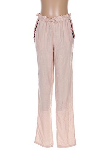 Pantalon casual rose CARREMENT BEAU pour fille