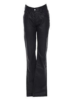 Jeans coupe droite noir CHEFDEVILLE pour homme