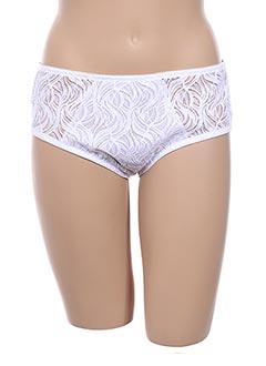 Slip/Culotte blanc FELINA pour femme