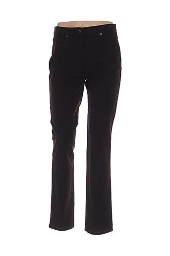 Pantalon casual marron CLARINA pour femme
