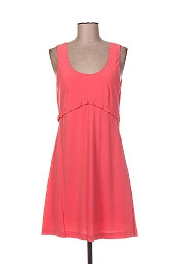 Robe mi-longue rose NICE THINGS pour femme