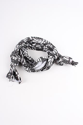 Foulard gris EMA TESSE pour femme