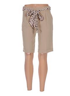 Produit-Shorts / Bermudas-Femme-JUS D'ORANGE