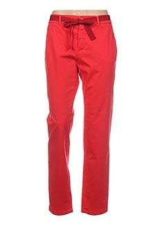 Pantalon chic rouge MAXMARA pour femme