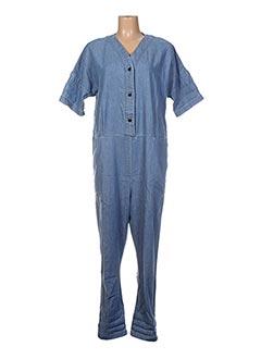 Combinaison bleu BELLEROSE pour femme