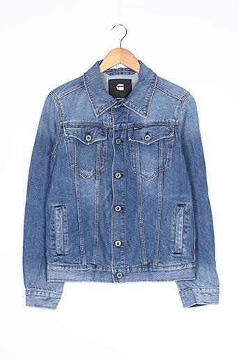 Veste en jean bleu G STAR pour femme