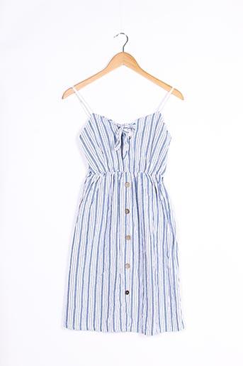 Robe courte bleu ADILYNN pour femme