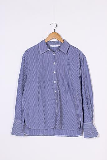 Chemise manches longues bleu NA-KD pour homme