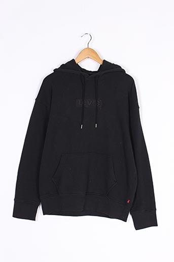 Sweat-shirt noir LEVIS pour homme
