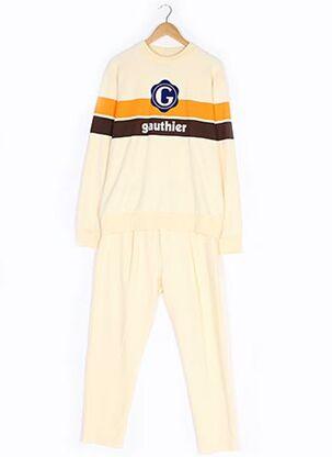 Pull/pantalon jaune GAUTHIER pour homme