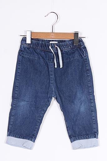 Jeans coupe droite bleu VERTBAUDET pour garçon