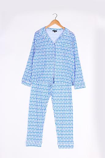 Ensemble lingerie bleu ARTHUR pour femme