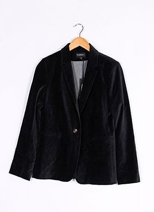 Veste casual noir CAROLL pour femme