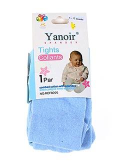 Collants bleu YANOIR pour fille