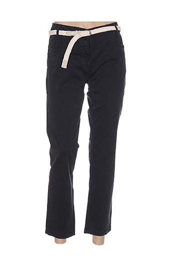 Pantalon 7/8 bleu ESPRIT DE LA MER pour femme