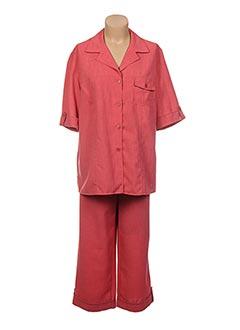 Veste/pantalon rouge BRANDTEX pour femme