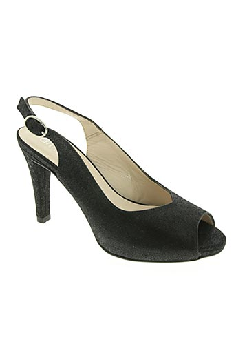 Sandales/Nu pieds noir AMARU pour femme