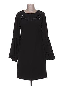 Robe courte noir BLU IN pour femme