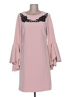 Robe courte rose BLU IN pour femme