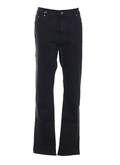 Jeans coupe droite noir GRIFFE NOIRE pour homme