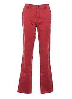 Pantalon casual orange GRIFFE NOIRE pour homme