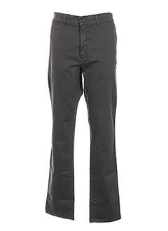 Pantalon casual vert GRIFFE NOIRE pour homme