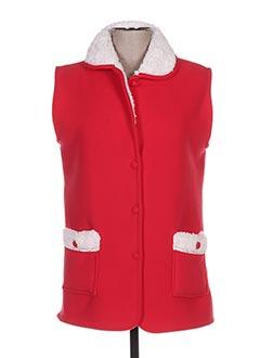 Robe de chambre rouge SENORETTA pour femme