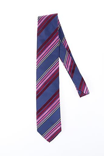 Cravate bleu NODUS pour homme