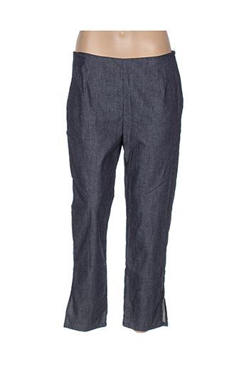 Pantalon 7/8 bleu BLA-BLA pour femme