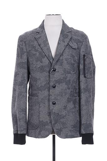 Veste casual gris DESIGUAL pour homme
