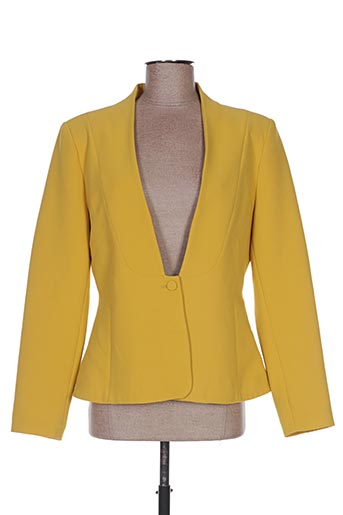 Veste casual jaune HIPPOCAMPE pour femme