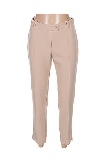 Pantalon 7/8 beige HIPPOCAMPE pour femme