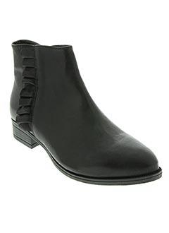 Bottines/Boots noir GAIMO pour femme