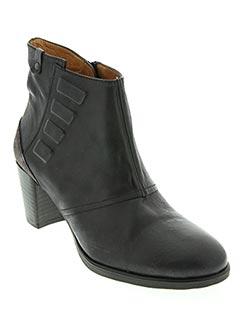 Bottines/Boots noir HISPANITAS pour femme