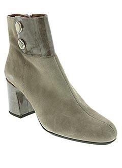 Bottines/Boots gris HISPANITAS pour femme
