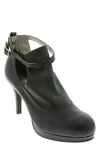 Bottines/Boots noir COC'TAIL pour femme