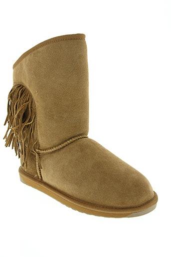 Bottines/Boots marron EMU AUSTRALIA pour femme