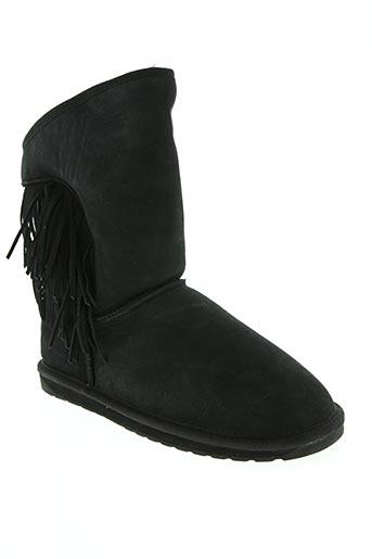 Bottines/Boots noir EMU AUSTRALIA pour femme