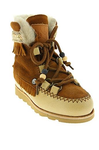 Bottines/Boots marron DOLFIE pour fille