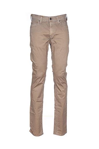 Pantalon casual marron MUSTANG pour homme