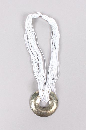 Collier blanc ZANZIBAR pour femme