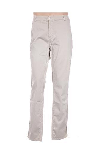 Pantalon casual gris BLUE LEMON pour homme