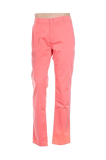 Pantalon casual orange BLUE LEMON pour homme