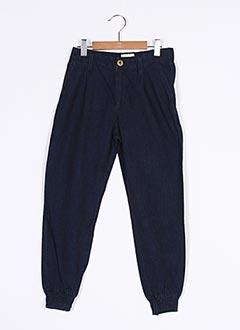Pantalon casual bleu BELLEROSE pour fille