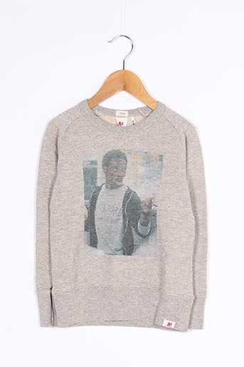 Sweat-shirt gris AMERICAN OUTFITTERS pour fille