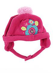 Bonnet rose TUC TUC pour fille seconde vue
