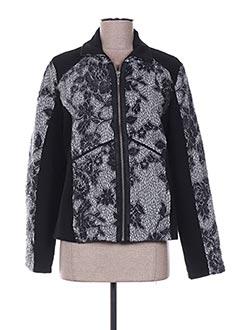 Veste casual gris FELINO pour femme