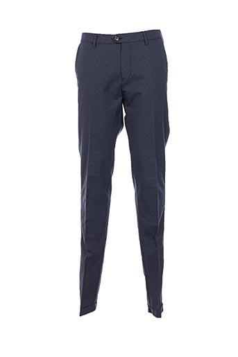 Pantalon casual bleu ZILTON pour homme